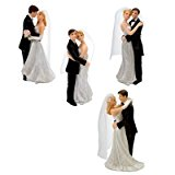 Bride and Groom Wedding Cake Topper (1pc)