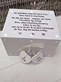 Shabby Chic Style Personalised Gift For Bride From Bridesmaid Wedding Trinket Gift Box