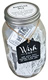 Wedding Wish Jar Wishes Celebration 100 Wish Cards Wedding Accessories Cute Love Present