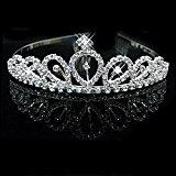 Fashion Stylish Rhinestones Princess Crown Headband diamond Hair Wedding Tiara Bride Prom