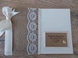 Vintage Personalised Wedding Memory Photo Album With Box