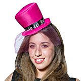 Mini Top Hat - Bride To Be for Fancy Dress Party Accessory
