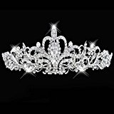 Wedding Bridal Bridesmaid Prom Party Crystal Rhinestone Tiara Crown Headpiece