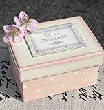 Bridesmaid Gift - Pink Gift Keepsake Box To Our Bridesmaid
