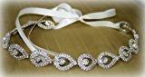 WIMKEN High Quality Rhinestones In The Shape Of Tear Drops Bridal Headband, Wedding Belt Sash Or Hair Accessories