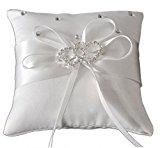 Eyekepper Double-heart Wedding Ring Pillow