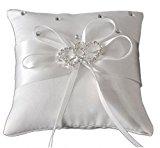 Eyekepper Double-heart Wedding Ring Pillow