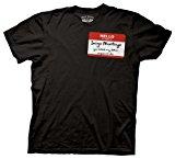 Old Glory - Princess Bride - Mens Name Tag T-shirt Small Black