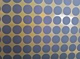 Round Silver Scratch Off Stickers (1