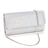 Anladia Elegant Ladies Evening Party Small Clutch Bag Bridal Purse Handbag Crossbody