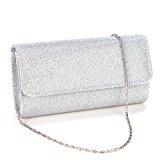 Anladia Elegant Ladies Evening Party Small Clutch Bag Bridal Purse Handbag Crossbody