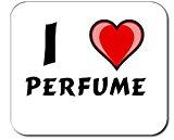 Custom Mouse Pad with I Love perfume