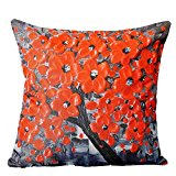 LHWY Home Car Bed Sofa Vintage Decorative Cute Pillow Case Cushion Cover (G)