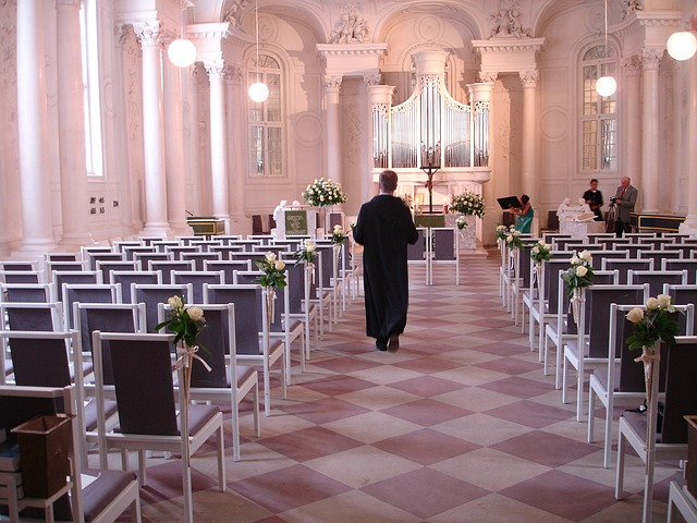 Wedding church photo
